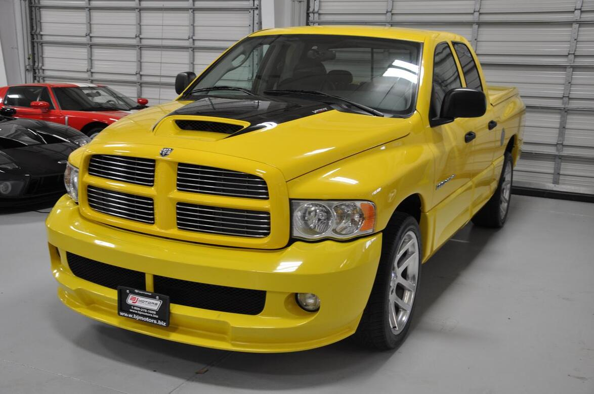 2005 dodge ram srt 10 srt ram viper truck tx 17515112. Black Bedroom Furniture Sets. Home Design Ideas