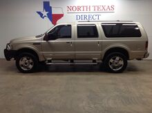 2005_Ford_Excursion_Limited 4x4 Diesel Lifted Leather 3rd Row 8 Passenger_ Mansfield TX