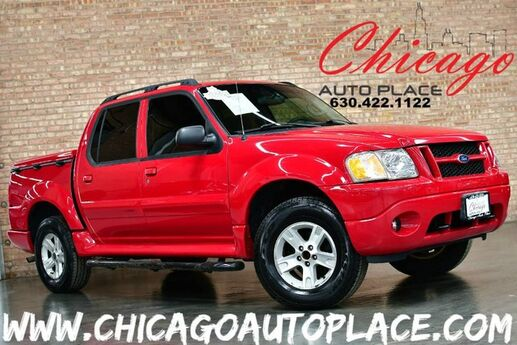 2005 Ford Explorer Sport Trac XLT - 4.0L V6 ENGINE 4 WHEEL DRIVE 1 OWNER 2 TONE GRAY CLOTH BODY COLOR BED COVER PREMIUM ALLOY WHEELS Bensenville IL