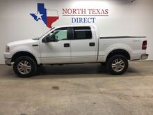 2005_Ford_F-150_Lariat 4x4 Crew Cab leather Towing Pkg_ Mansfield TX