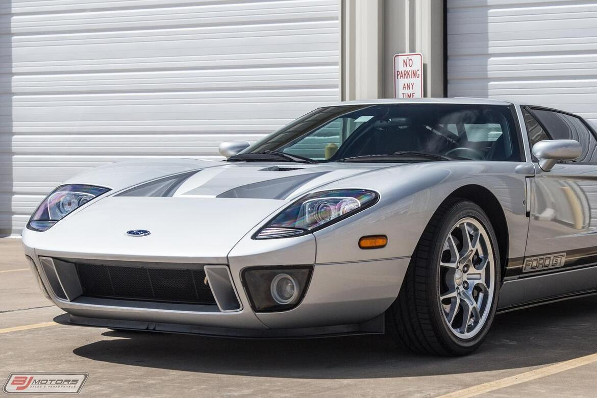 2005 Ford GT Quicksilver Stripe Delete GT40 Tomball TX