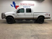 2005_Ford_Super Duty F-250_FX-4 4x4 XLT Crew 6.0 Diesel Short Bed Ranch Hands Ultra 35_ Mansfield TX