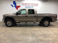 2005_Ford_Super Duty F-250_XLT FX-4 4X4 6.0 Diesel Crew Towing Chrome Gooseneck_ Mansfield TX
