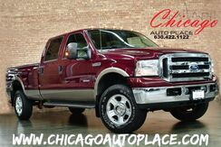 2005 Ford Super Duty F-350 SRW Lariat - CLEAN CARFAX 4WD TURBO DIESEL LEATHER HEATED SEATS Bensenville IL
