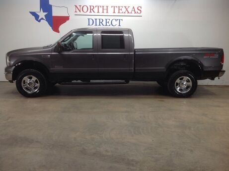 2005 Ford Super Duty F-350 SRW Lariat FX4 4WD Leather 6.0L Turbo Diesel Tow Package Mansfield TX