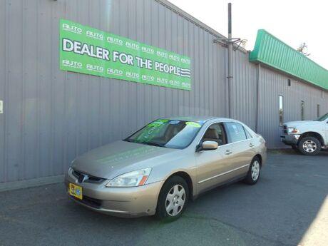 2005 Honda Accord LX sedan AT Spokane Valley WA