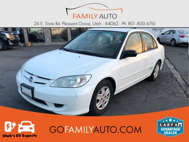 2005 Honda Civic GX Sedan NGV CVT w/ABS Pleasant Grove UT
