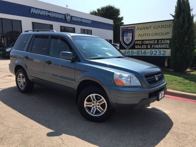 2005 Honda Pilot EX L AWD LEATHER, SUNROOF, ALLOYS, ALL POWER EQUIPMENT ...