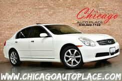 2005_INFINITI_G35x Sedan_3.5L V6 ENGINE ALL WHEEL DRIVE GRAY NAVIGATION LEATHER HEATED SEATS SUNROOF BOSE AUDIO PREMIUM WHEELS_ Bensenville IL