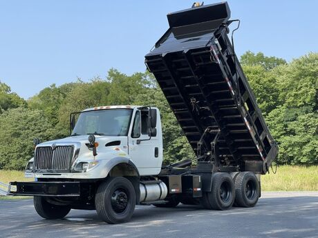 2005 International 7600 Tandem Axle 15' Dump Crozier VA