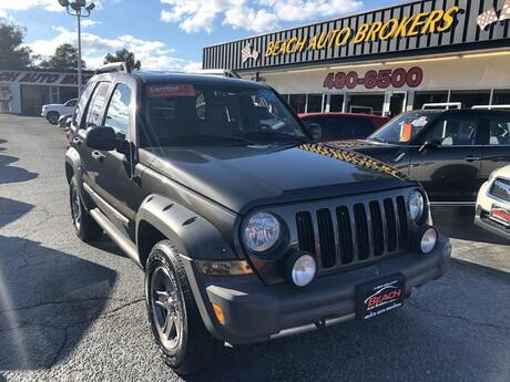 2005 JEEP LIBERTY RENEGADE 4X4, BUYBACK GUARANTEE, WARRANTY, TOW PKG, ROOF RACKS, A/C, KEYLESS ENTRY,, ONLY 74K MILES! Norfolk VA