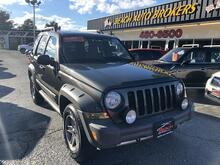 2005_JEEP_LIBERTY_RENEGADE 4X4, CERTIFIED W/WARRANTY, TOW PKG, ROOF RACKS, A/C, KEYLESS ENTRY, CLEAN, ONLY 74K MILES!!_ Norfolk VA