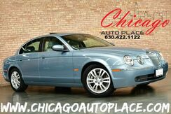 2005_Jaguar_S-TYPE_3.0L V6 ENGINE GRAY LEATHER INTERIOR SUNROOF WOOD GRAIN INTERIOR_ Bensenville IL