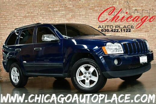 2005 Jeep Grand Cherokee Laredo - 4.7L V8 ENGINE 4 WHEEL DRIVE GRAY LEATHER HEATED SEATS ALLOY WHEELS SUNROOF FOG LAMPS Bensenville IL