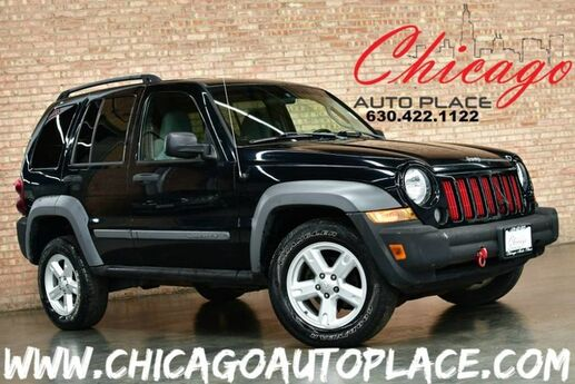 2005 Jeep Liberty Sport- 2.8L I4 TURBO DIESEL ENGINE 4WD GRAY CLOTH INTERIOR PREMIUM ALLOY WHEELS Bensenville IL
