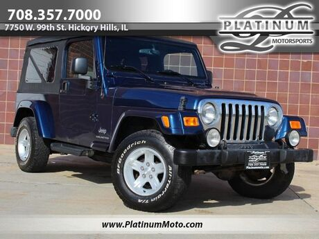 2005 Jeep Wrangler Unlimited LWB Hickory Hills IL