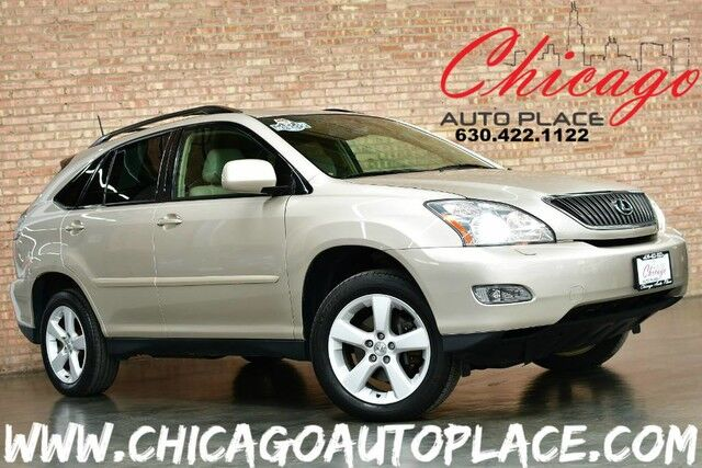 2005 Lexus RX 330 1 OWNER 3.3L V6 ENGINE ALL WHEEL DRIVE TAN LEATHER NAVIGATION BACKUP CAMERA SUNROOF XENONS Bensenville IL