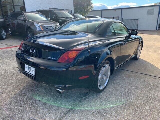 2005 Lexus SC430 NAVIGATION MARK LEVINSON PREMIUM STEREO, PREMIUM HEATED LEATHER!!! EXTRA CLEAN!!! BLACK ON BLACK, LOW MILES!!! RARE FIND!!! Plano TX