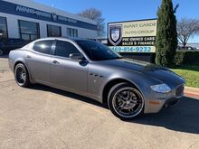 2005_Maserati_Quattroporte_NAVIGATION, LEATHER, SUNROOF, CUSTOM RIMS!!! VERY CLEAN AND LOADED!!!_ Plano TX
