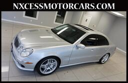 Mercedes-Benz E-Class E55 AMG SUPERCHARGED CLEAN CARFAX LOW MILES. 2005