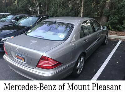 2005_Mercedes-Benz_S-Class_5.0L_ Charleston SC