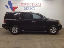 2005_Nissan_Armada_LE Leather Bose V8 Park Assist 3rd Seat Rear AC_ Mansfield TX