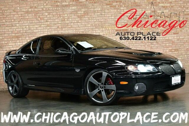 2005 Pontiac GTO 6 0 - 6 0L V8 SFI ENGINE 6 SPEED MANUAL TRANSMISSION REAR  WHEEL DRIVE BLACK LEATHER SPORT SEATS PERFORMANCE EXHUAST VOLANT COOL AIR