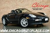 2005 Porsche Boxster Roadster - 2.7L HO 6-CYL ENGINE 5 SPEED MANUAL TRANSMISSION BLACK LEATHER SPORT SEATS HEATED SEATS PREMIUM ALLOY WHEELS
