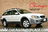 2005 Subaru Legacy Wagon Outback LIMITED - 2.5L 4-CYL BOXER ENGINE 5 SPEED MANUAL ALL WHEEL DRIVE 1 OWNER BEIGE LEATHER HEATED SEATS WOOD GRAIN INTERIOR TRIM PANO ROOF