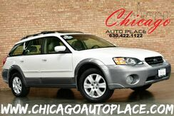 2005_Subaru_Legacy Wagon_Outback LIMITED - 2.5L 4-CYL BOXER ENGINE 5 SPEED MANUAL ALL WHEEL DRIVE 1 OWNER BEIGE LEATHER HEATED SEATS WOOD GRAIN INTERIOR TRIM PANO ROOF_ Bensenville IL