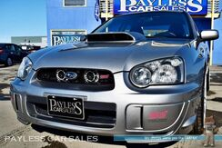 2005_Subaru_WRX STI Sedan_/ AWD / 6-Spd Manual / Turbocharged / Kenwood Deck / Navigation / KLUTCH 19 in Wheels / Custom Exhaust / COBB Air Intake / MISHIMOTO Radiator / BREMBO Brakes_ Anchorage AK