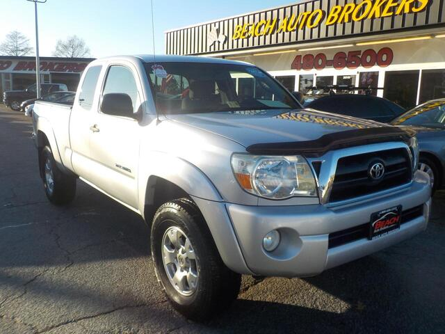 2005 TOYOTA TACOMA TRD OFF ROAD ACCESS CAB 4X4, WARRANTY, MANUAL, TOW PKG, KEYLESS ENTRY, FOG LAMPS, BED LINER, A/C!!!! Norfolk VA