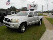 TOYOTA TACOMA TRD OFF-ROAD DOUBLE CAB 4X4, ONE OWNER, CERTIFIED W/WARRANTY, MANUAL, KEYLESS ENTRY, BED LINER! 2005