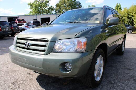 2005 Toyota Highlander Limited Richmond VA