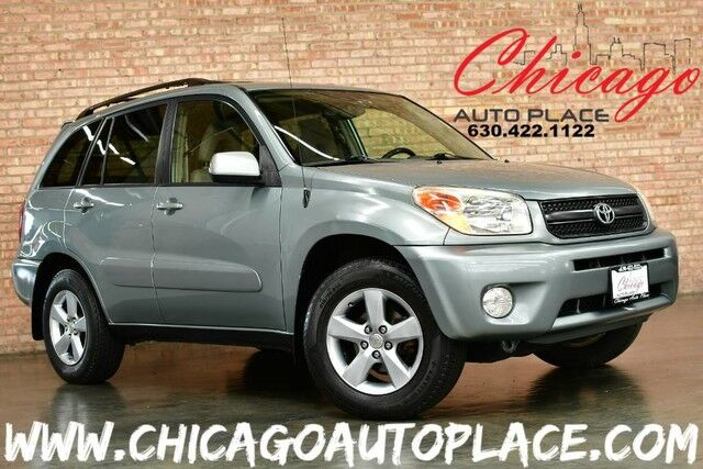 2005 Toyota RAV4 - 2.4L VVT-I 4-CYL ENGINE FRONT WHEEL DRIVE TAN CLOTH INTERIOR SUNROOF PREMIUM ALLOY WHEELS Bensenville IL