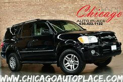 2005_Toyota_Sequoia_Limited - 4.7L I-FORCE V8 ENGINE 4WD TAN LEATHER HEATED SEATS SUNROOF JBL AUDIO 3RD ROW SEATS_ Bensenville IL