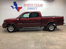 2005_Toyota_Tundra_SR5 Crew Cab Leather V8 Camera Bedliner Touch Screen_ Mansfield TX