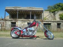 2005_Ultra Custom_Softail_Custom Chopper_ Hamilton NJ