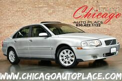2005_Volvo_S80_2.5L TURBOCHARGED I5 ENGINE FRONT WHEEL DRIVE BEIGE LEATHER HEATED SEATS SUNROOF WOOD GRAIN INTERIOR TRIM DUAL ZONE CLIMATE CONTROL_ Bensenville IL