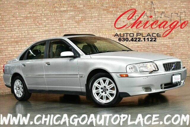 2005 Volvo S80 2.5L TURBOCHARGED I5 ENGINE FRONT WHEEL DRIVE BEIGE LEATHER HEATED SEATS SUNROOF WOOD GRAIN INTERIOR TRIM DUAL ZONE CLIMATE CONTROL Bensenville IL