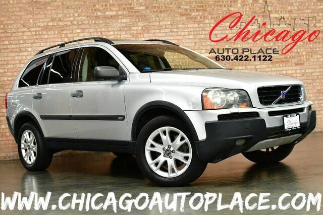 2005 Volvo XC90 2.9L TWIN TURBO I6 ENGINE ALL WHEEL DRIVE BLACK LEATHER HEATED SEATS 3RD ROW REAR TV/DVD SUNROOF Bensenville IL