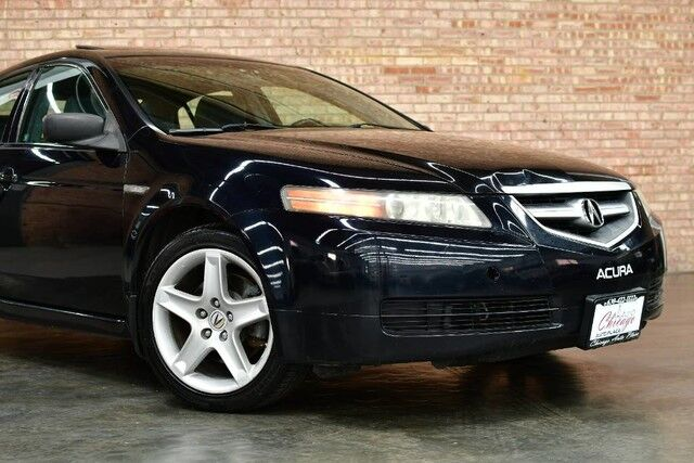 2006 Acura TL 3.2L VTEC V6 ENGINE FRONT WHEEL DRIVE GRAY LEATHER HEATED SEATS SUNROOF XENONS PREMIUM ALLOY WHEELS Bensenville IL