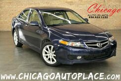 2006_Acura_TSX_2.4L PGM-FI 4-CYL ENGINE TAN LEATHER HEATED SEATS SUNROOF XENONS WOOD GRAIN INTERIOR TRIM_ Bensenville IL