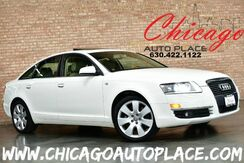 2006_Audi_A6_4.2 - 4.2L FSI V8 ENGINE QUATTRO AWD NAVIGATION PARKING SENSORS KEYLESS GO BEIGE LEATHER HEATED SEATS SUNROOF BOSE AUDIO WOOD GRAIN INTERIOR TRIM_ Bensenville IL