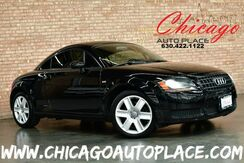 2006_Audi_TT_COUPE - 1.8L 180HP TURBOCHARGED I4 ENGINE CLEAN CARFAX BLACK LEATHER HEATED SEATS BOSE AUDIO XENONS_ Bensenville IL