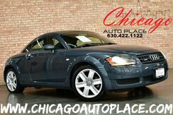 2006_Audi_TT_COUPE - 1.8L 225HP I4 TURBOCHARGED ENGINE QUATTRO 6 SPEED MANUAL GRAY LEATHER HEATED SEATS XENONS PREMIUM ALLOYS_ Bensenville IL