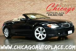 2006_BMW_6 Series_650Ci Convertible - 4.8L V8 ENGINE REAR WHEEL DRIVE PARKING SENSORS BEIGE LEATHER HEATED SEATS HEATED STEERING WHEEL XENONS_ Bensenville IL