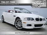 2006 BMW M3 Conv SMG 2 Keys Books 19 Factory Rims Heated Seats Best Color Combo