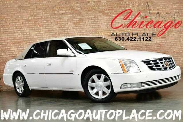 2006 Cadillac DTS w/1SD - 4 6L DOHC NORTHSTAR V8 ENGINE FRONT WHEEL DRIVE  BEIGE LEATHER HEATED/COOLED SEATS WOOD GRAIN INTERIOR TRIM PREMIUM ALLOY