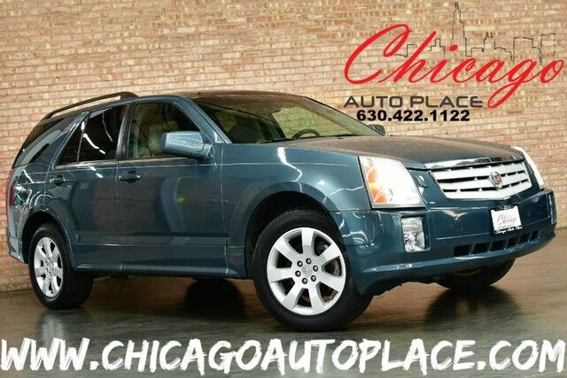 2006 Cadillac SRX 3.6L - V6 VVT ENGINE 1 OWNER REAR WHEEL DRIVE GRAY LEATHER PANO ROOF DUAL ZONE CLIMATE Bensenville IL